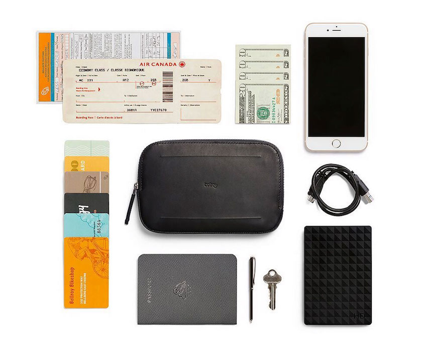 Bellroy All Conditions Essentials Pocket内容量